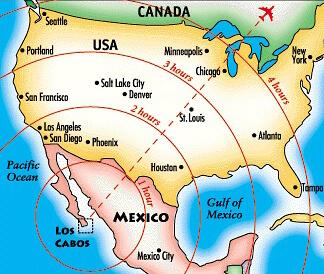 Лос Кабос Карта