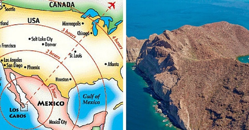 Карта Лос Кабоса