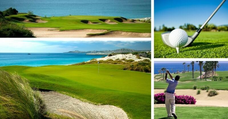 фото гольф в Мексике