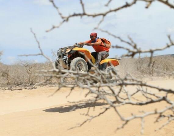 фото квадрациклы в Мексике