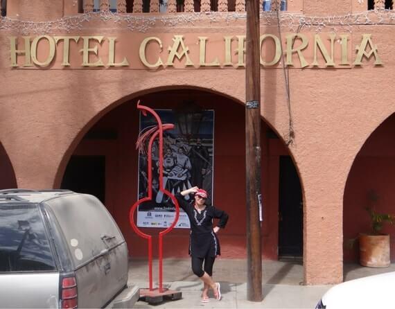 Фото отель калифорния в Мексике