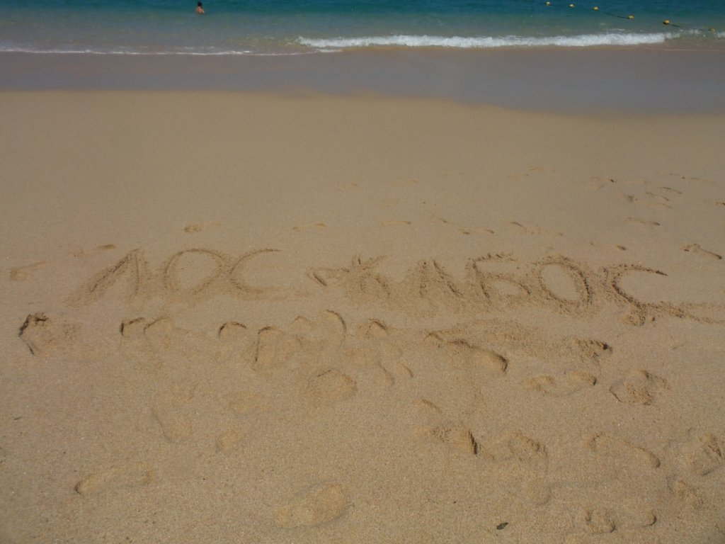 Пляж Кабо Сан Лукас Фото