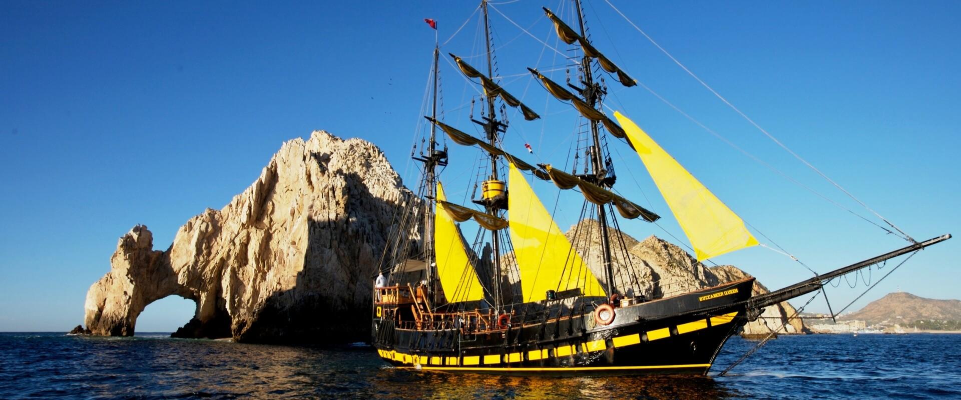 фото тур на корабле пиратов в Мексике
