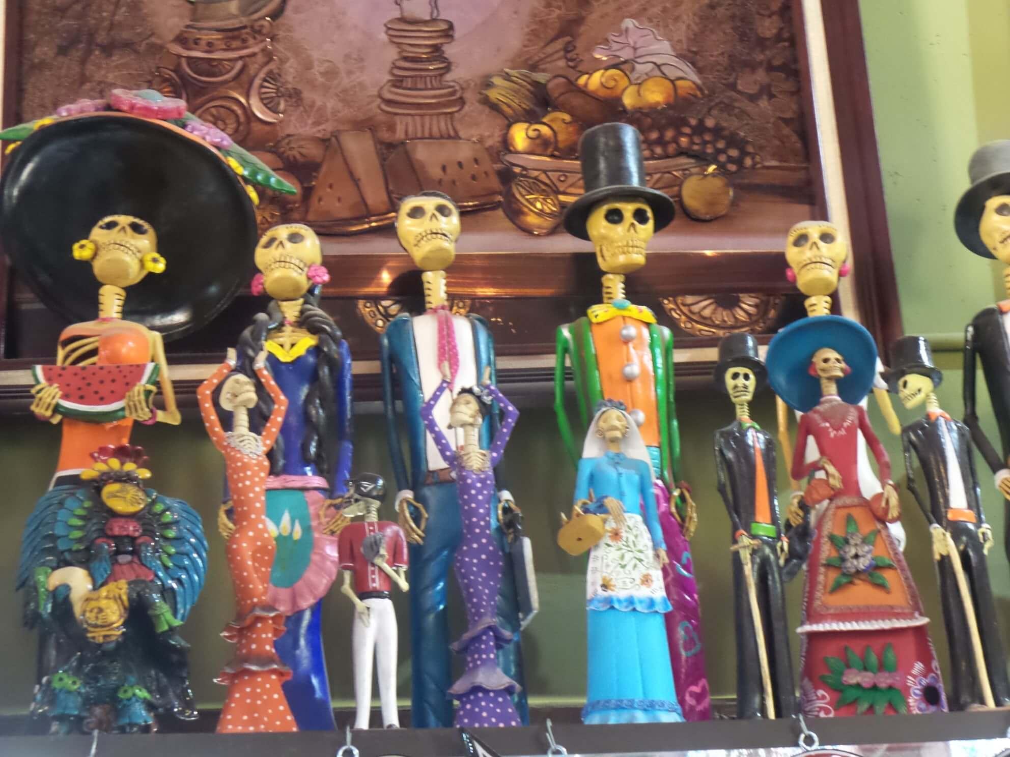 фото калаверас в мексике